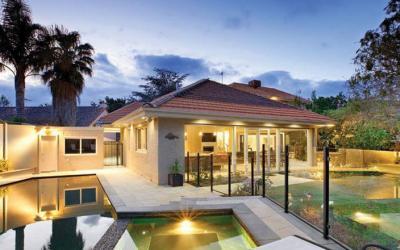 Elegantly cottage in sunny California